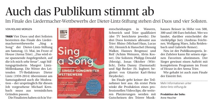 Sing an Song 12_May.Kultur1